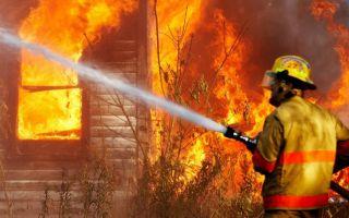 Основные правила поведения при возникновении пожара